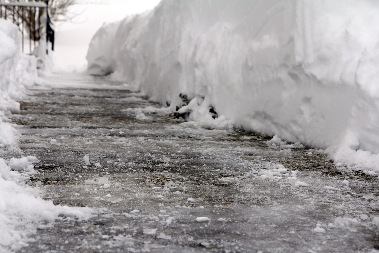 Winter Slip and Fall Accidents