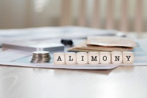 What is alimony, and can its terms change if the paying partner becomes unable to work?