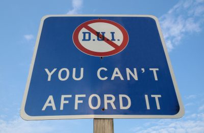 Is a DUI charge ever dismissed in New Jersey, and how?