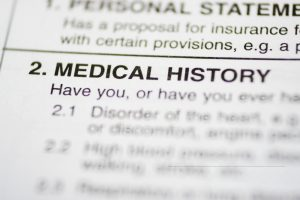 Medical History or Pre-existing Injuries in a Personal Injury Claim