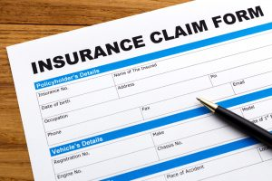 What is the difference between a first-party claim and a third-party claim?