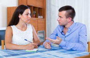 Negotiating with an ex