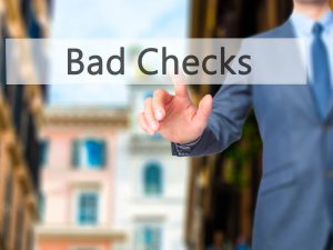 Bad Checks Charge Defense in New Jersey